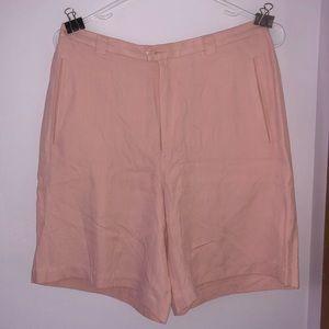 Tommy Bahama baby pink bermuda shorts